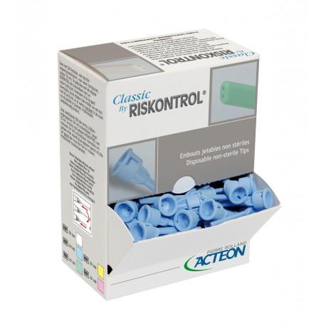 RISKONTROL CLASSIC NON STERILE BLANC (BOITE DE 250)
