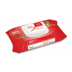 LINGETTE DENTASEPT SH PRO WIPES (BOITE DE 100)