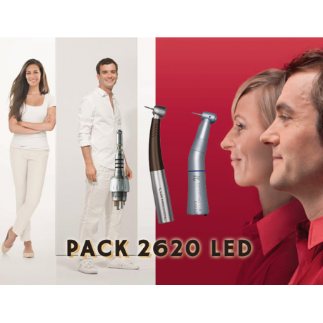 PACK 2620 LED KAVO - TURBINE 9000L + CA E20L + MULTIFLEX