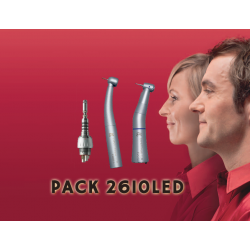 PACK 2610 LED KAVO - TURBINE E680L + CA E20L + MULTIFLEX