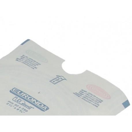 SACHET DE STERILISATION AUTOCOLLANT EUROSTERIL 14x26cm (x200)