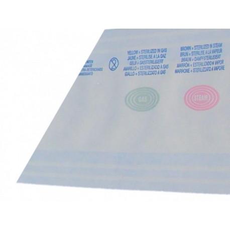 ROULEAU DE STERILISATION EUROSTERIL 20cm x5cm d'ep. (LONGUEUR 100m)