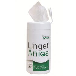 BOITE DE LINGET' ANIOS - 120 Lingettes désinfectantes