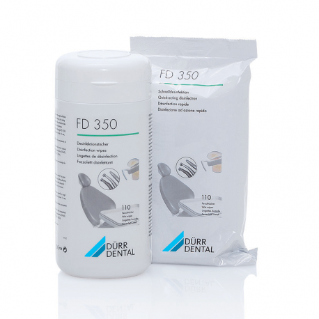 BOITE DE LINGETTES CLASSIC FD350 DURR DENTAL (boîte de 110)