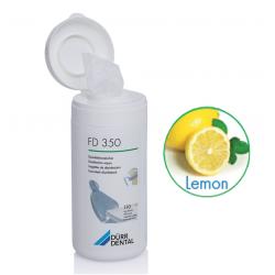 LINGETTES FD350 DURR DENTAL (la boîte de 110) citron