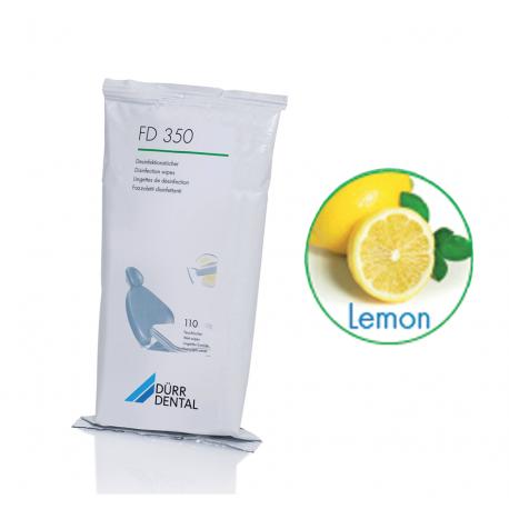 LINGETTES FD350 DURR DENTAL (la recharge de 110) citron