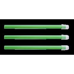 Pompe à salive EM15 couleur vert transparent Monoart (sachet de 100)