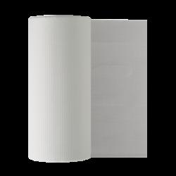 Bavoir de protection PG30 blanc Monoart (rouleau de 80)