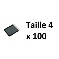 HOUSSE DE PROTECTION Taille 4 -  VISTASCAN (100 UNITEES)
