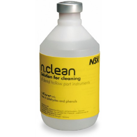 SOLUTION DETERGENTE N-CLEAN POUR I CARE+ PACK 6x500 ml