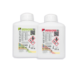 GREEN&CLEAN M2 - BOUTEILLE DE 500ml (x2) (env. 160 utilisations)