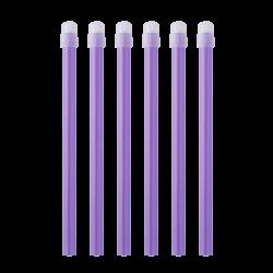 Pompe à salive EM15 couleur lila transparent Monoart (sachet de 100)