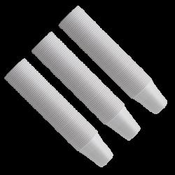 Gobelet plastique 166cc blanc Monoart (x100)