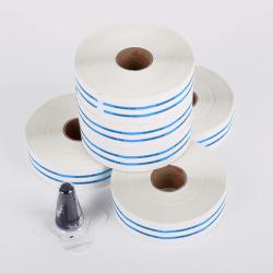 Pack de 6 rouleaux de 750 étiquettes + 1 encreur pour MELADOC