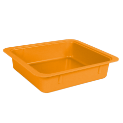TUBS A MATERIAUX COULEUR ORANGE