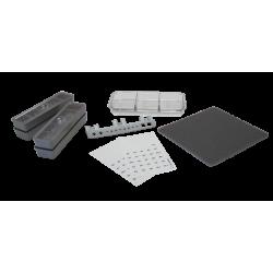 Kit d'accessoires pour cuvette à matériaux et mini-recharges ZIRC