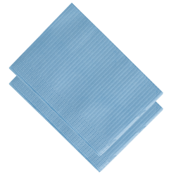 Serviette Towel up bleue Monoart (10 sachets de 50)