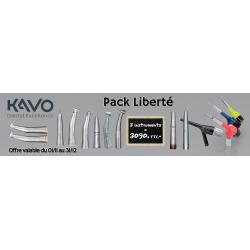 PACK Liberté - 3 Instruments Kavo à 3090€TTC*