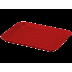 Plateau à instruments B-Lok sans compartiment Rouge