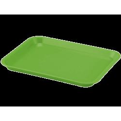 Plateau à instruments B-Lok sans compartiment Néon Vert