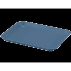 Plateau à instruments B-Lok sans compartiment Bleu