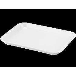 Plateau à instruments B-Lok sans compartiment Blanc