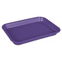 Mini Plateau (23,5 x 16,0 x 2,2 cm) neon violet