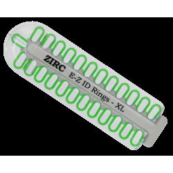 Kit d'anneaux silicone Ø1mm (x25) neon vert