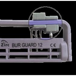 Adaptateur universel Porte-fraises stérile Bur Guard 12/22-Trous noir