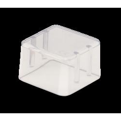 Couvercle Bur Block (8 trous) transparent