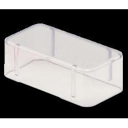 Couvercle Bur Block (14 trous - H.2,5 cm) transparent
