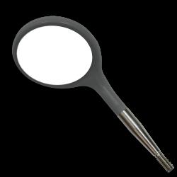 Tête de Miroir bucal Crystal HD n°4 , gris x12