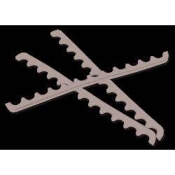 Insti-Grip (pour Plateau B-Lok compartimenté) gris