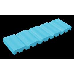 Tapis à instruments (17,0 x 5,1 cm) neon bleu