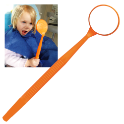 Miroir Mega - Neon Orange