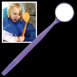 Miroir Mega Neon violet