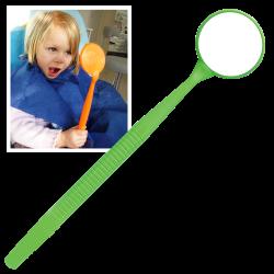 Miroir Mega - Neon vert