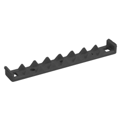 Languette de fermeture pour Compact Cassette gris