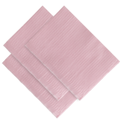 SERVIETTE TOWEL UP ROSE MONOART (x500)