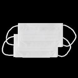 Masque de protection 3 blanc Monoart (x50)