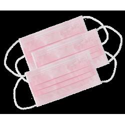 Masque de protection 3 rose Monoart (x50)